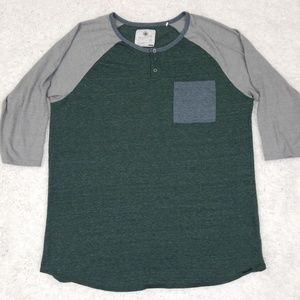 On The Byas Three Quarter Sleeve Shirt